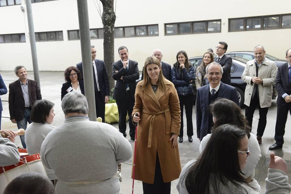 Visita de Sua Excelência a Secretária de Estado da Inclusão das Pessoas com Deficiência