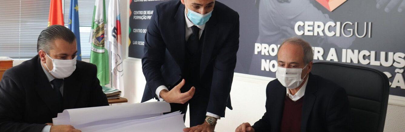 Presidente da Câmara visita a Cercigui